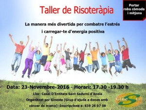poster taller risoterapia